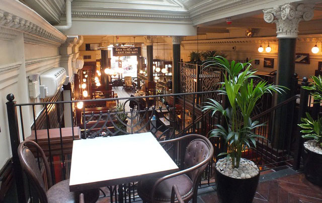 Interior of Chaakoo Bombay Café, Glasgow