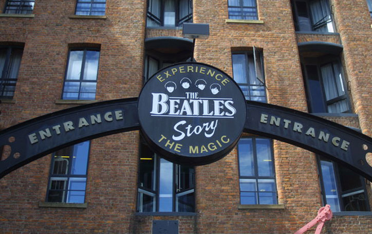 Entrance to The Beatles Story, Liverpool