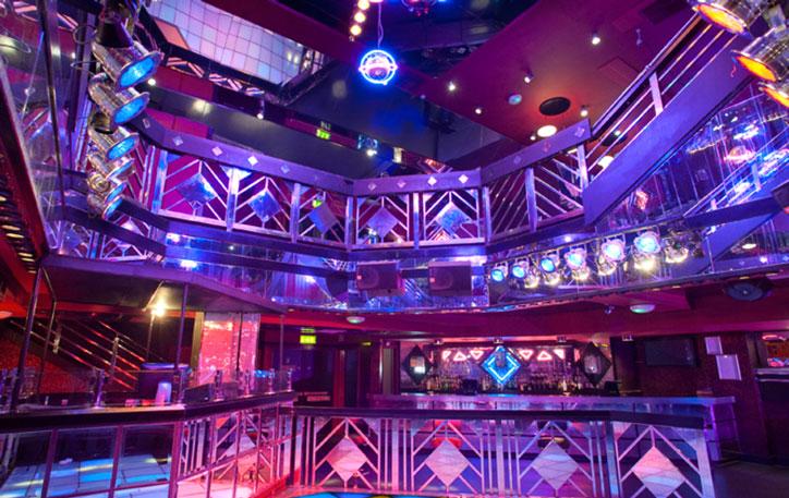 Interior of Oceana Nightclub, Southampton