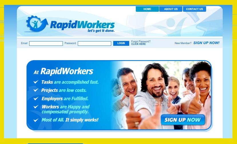 Drobne zlecenia w RapidWorkers