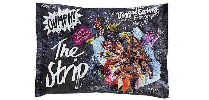 The Strip: Dette er også en naturell versjon, men den er strimlet i stedet for filet eller pulled. Denne posen finnes i utvalgte KIWI-butikker.