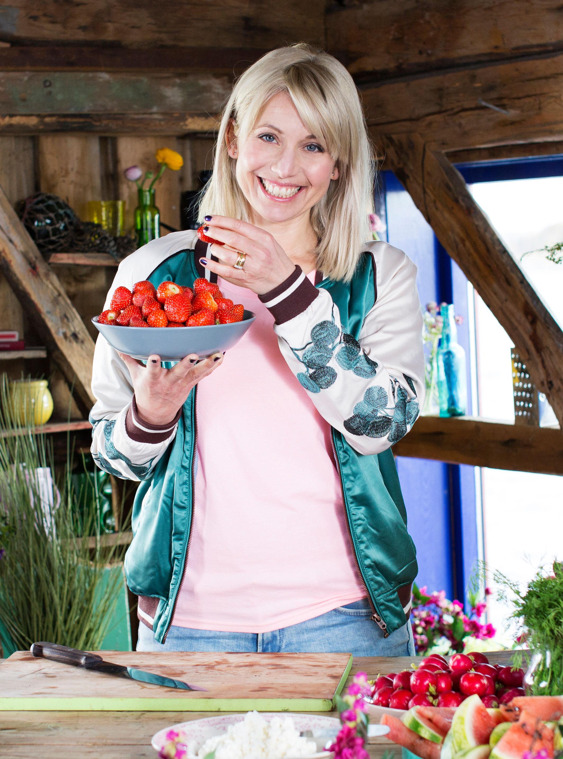 Tina Nordström vil at du skal spise grønt på 17. mai i år!