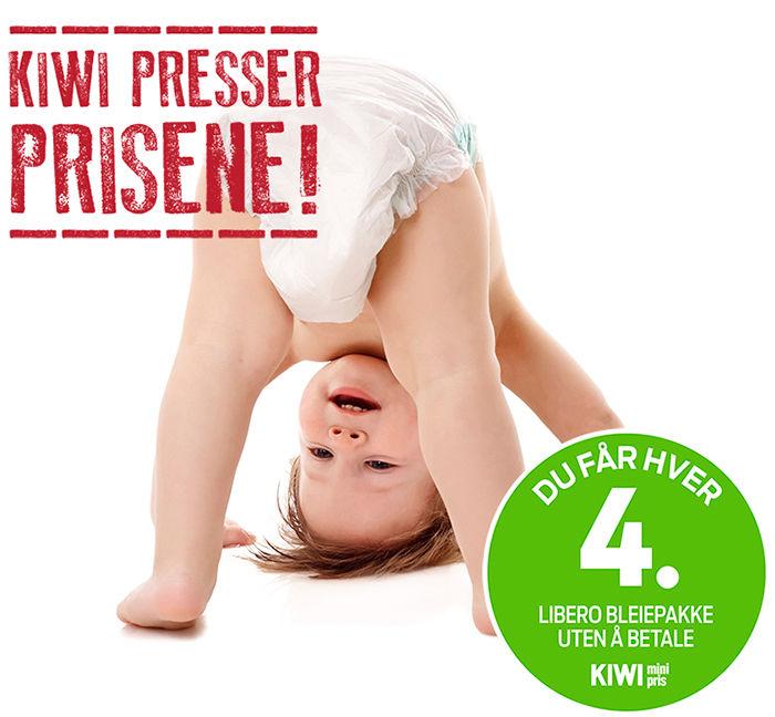 KIWIs bleieavtale senket bleieprisene i Norge til Europas billigste!