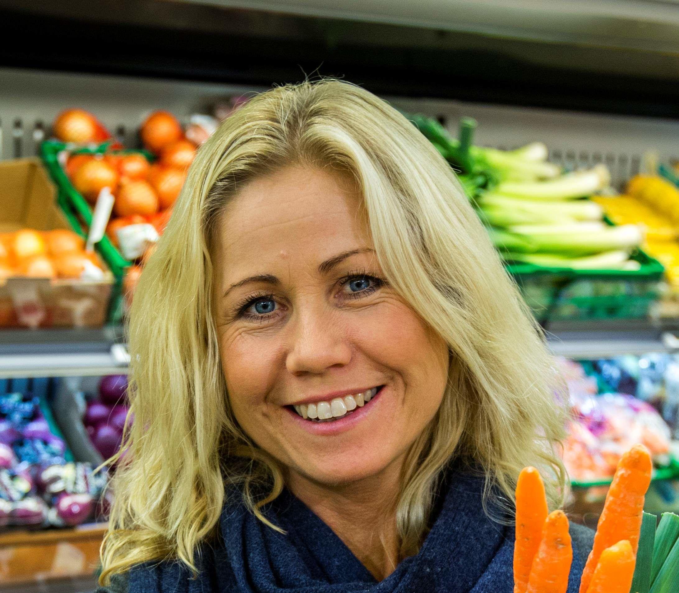 Tine Sundfør har flere kjappe og gode salat-tips på lur.
