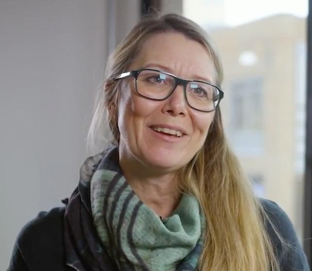Ingela Falk har vært med på å designe utseendet på LilleGo´-produktene.