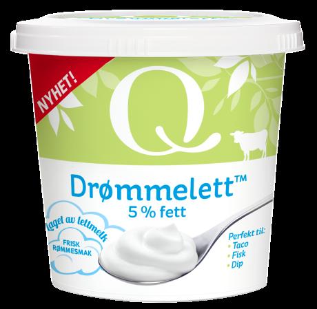 «Drømmelett» er et godt alternativ til rømme med bare fem prosent fett.