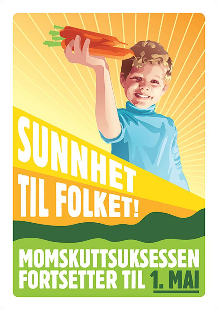 Momskutt-aksjonen som senket frukt og grønt-prisene i Norge.