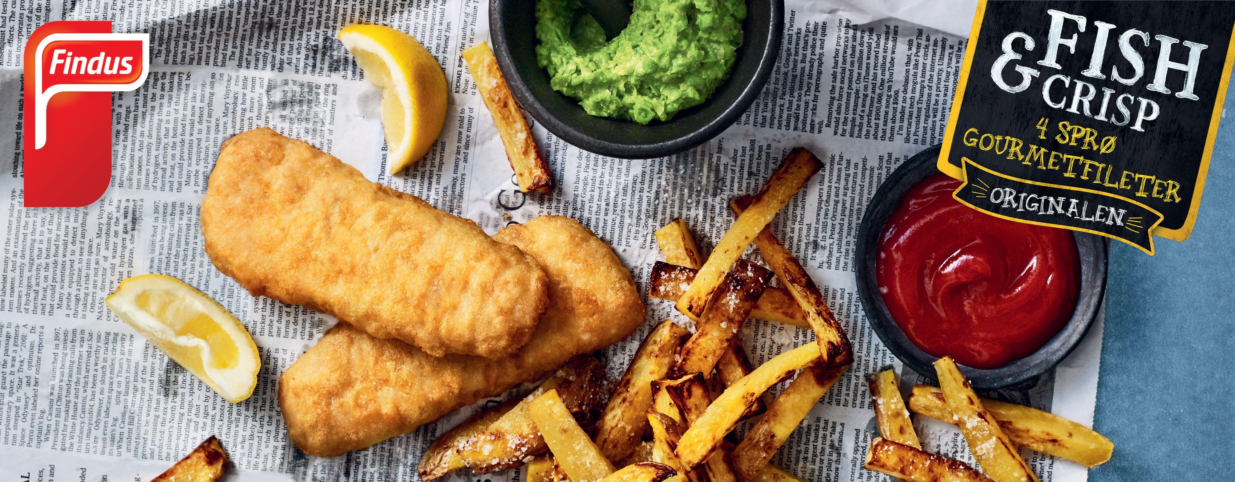 FISK: Findus Fish and Crips er blant produktene som er MSC-merket.