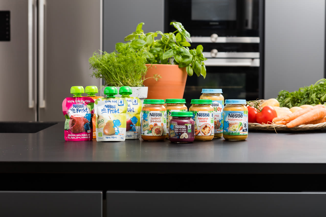 Du finner et stort utvalg ferdiglaget barnemat hos KIWI.