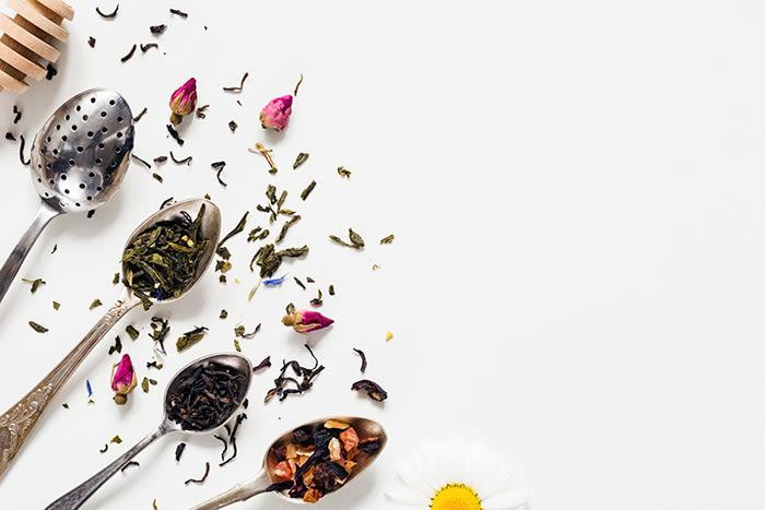 Urte-te er naturlig koffeinfri.