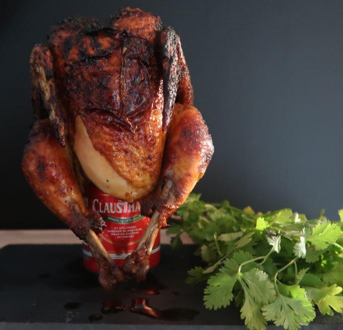 Slik kan du lage en saftig, øldampet kylling med Santa Clausthaler.