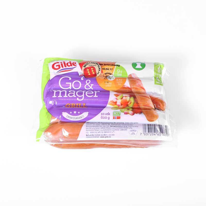 Gilde Go' & mager er en favoritt blant mange allergikere, og fåes kjøpt i de fleste KIWI-butikker.