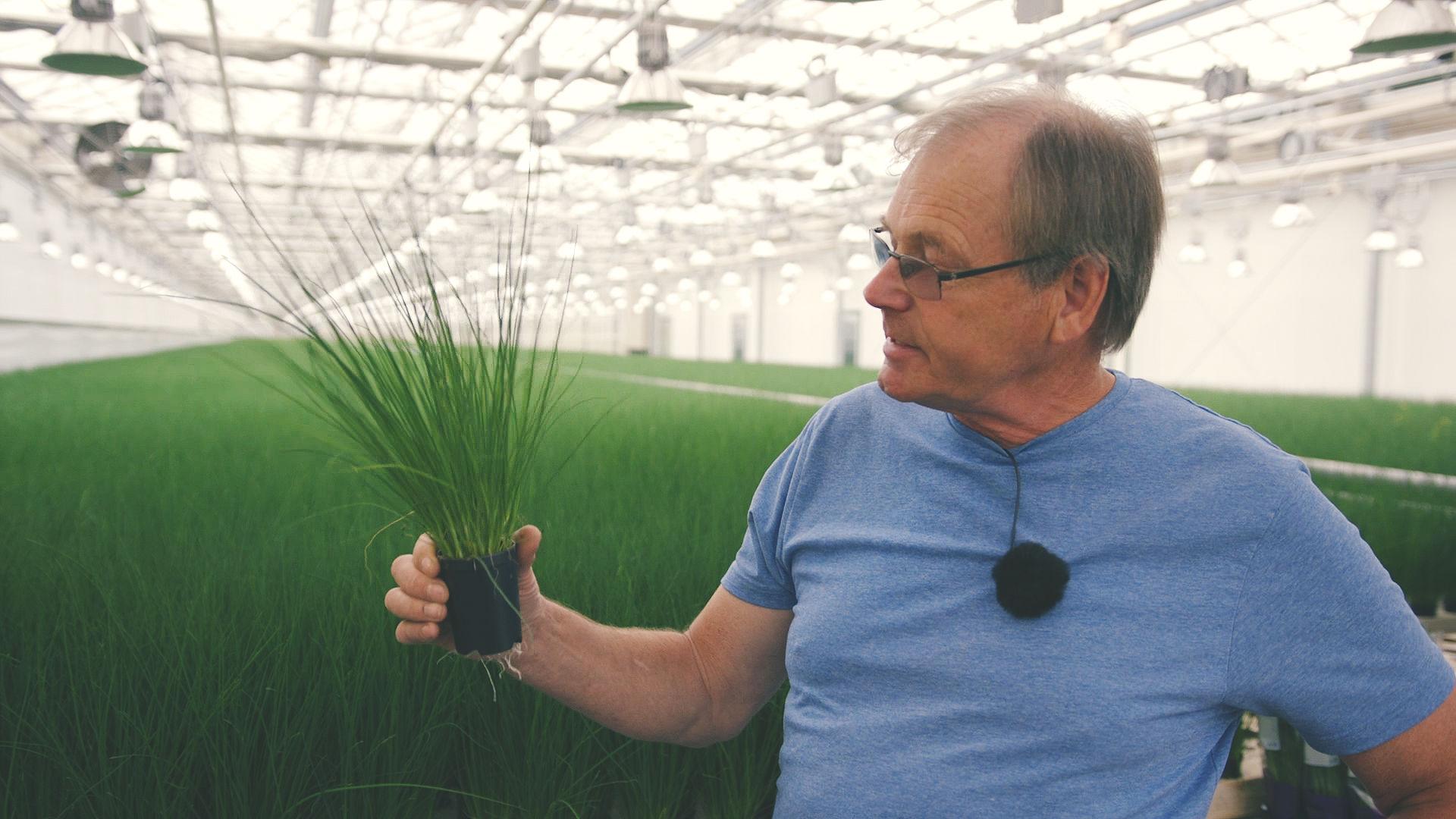 Hans Erik Fuglerud visste tidlig at det var gartner han skulle bli.