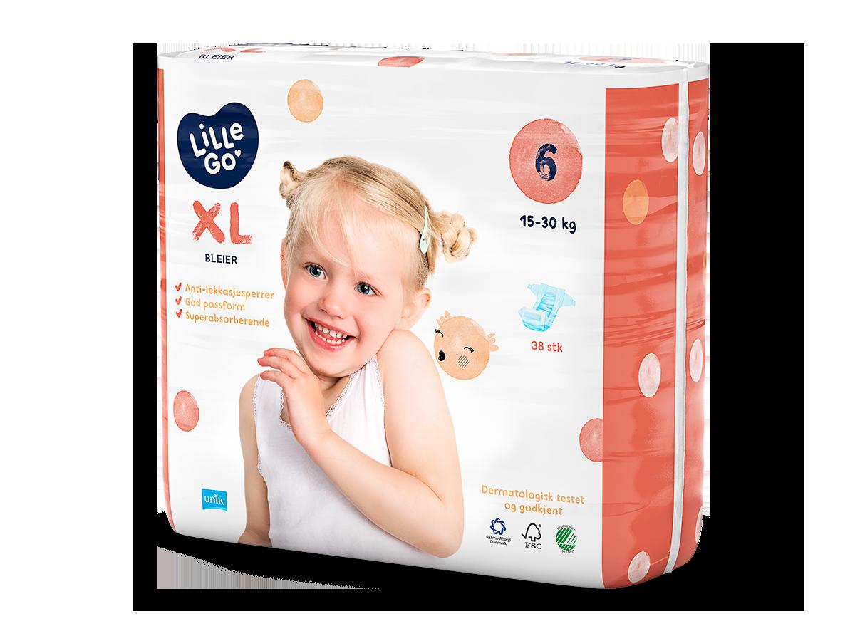 LilleGo´ Bleier XL, str 6 15-30 kg