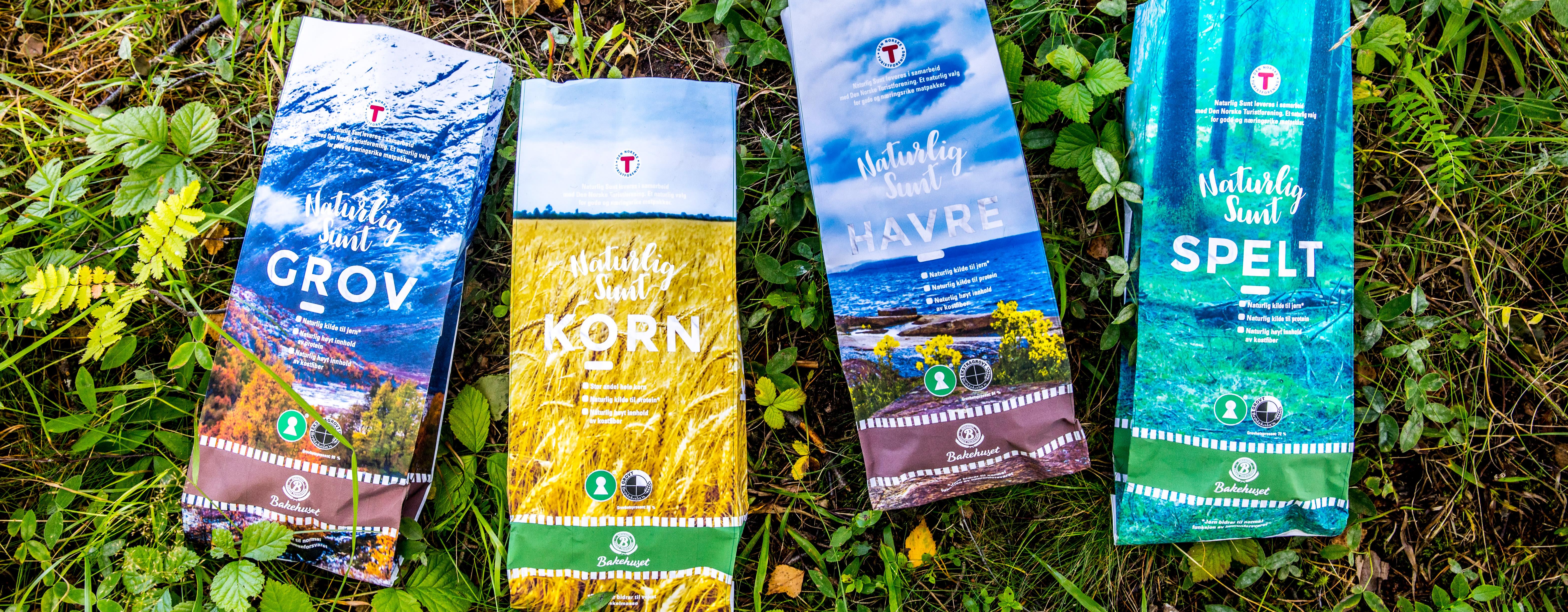 Brødserien Naturlig Sunt selges hos KIWI.