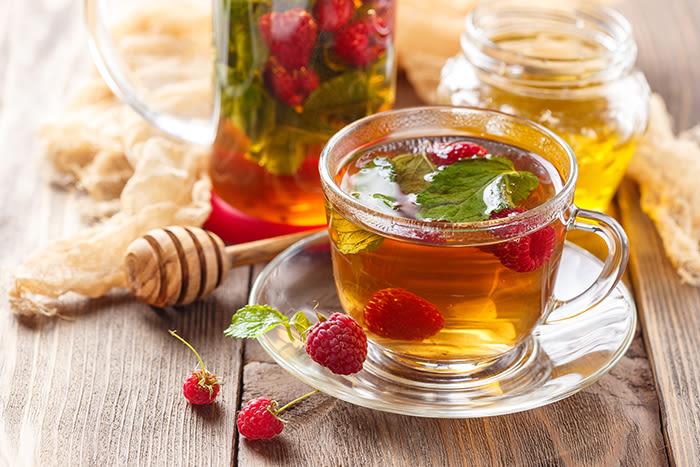 Frukt-te er sort te som er tilsatt smak.