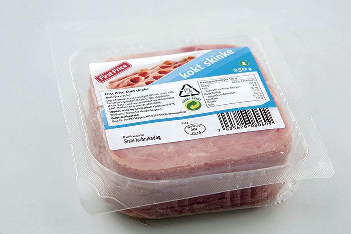First Price kokt skinke er en god skinke alle kan like, mener Aftenpostens smakspanel.