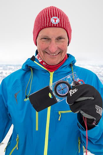 Nils Øveraas i DNT. Foto: Kari Nygard Tvilde/DNT