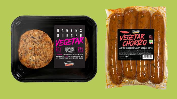 GRILLNYHETER: Vegetarburger og Vegetar Chorizo