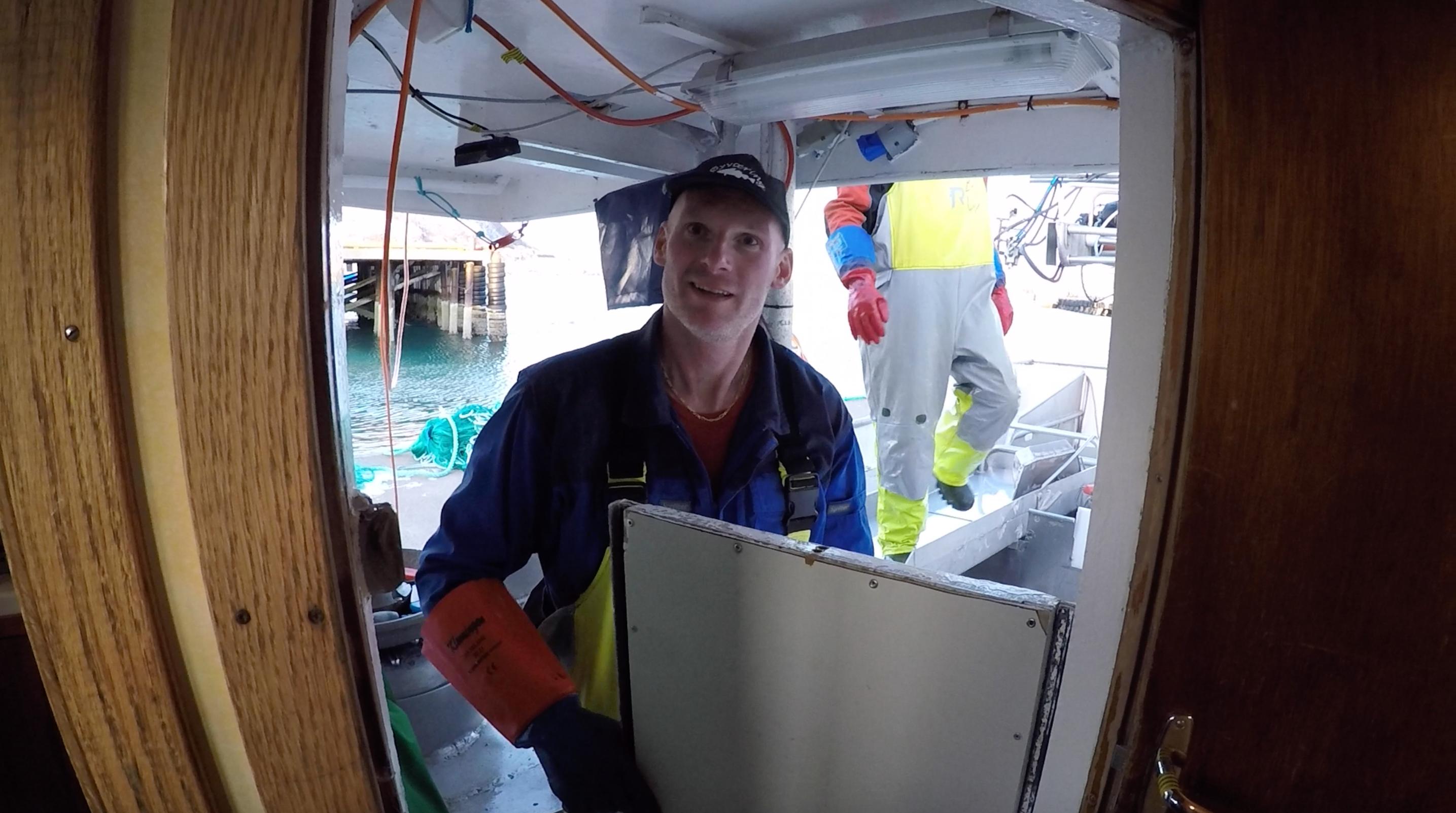Skipper John-Einar har levd på og av havet siden han var tenåring.