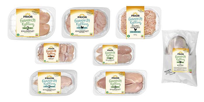 Priors kylling kommer i nytt design og størrelser.