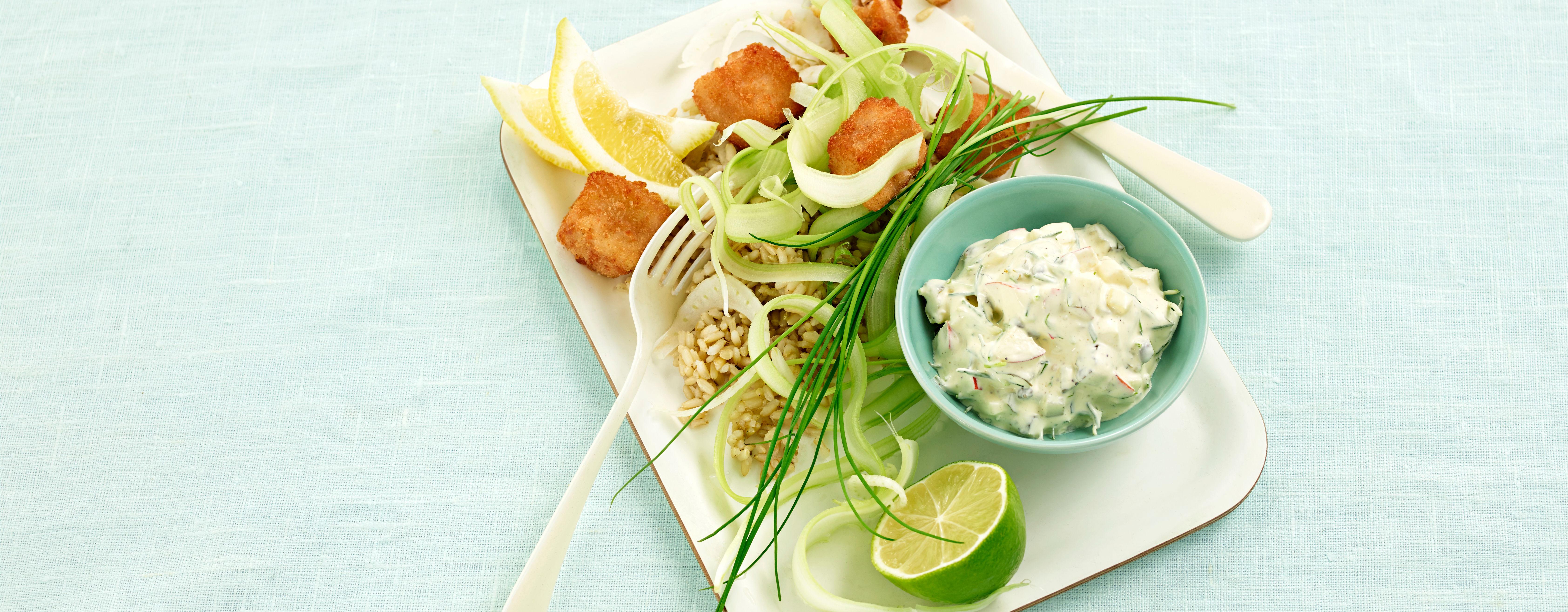 Prøv pankopanerte torskenuggets til middag!
