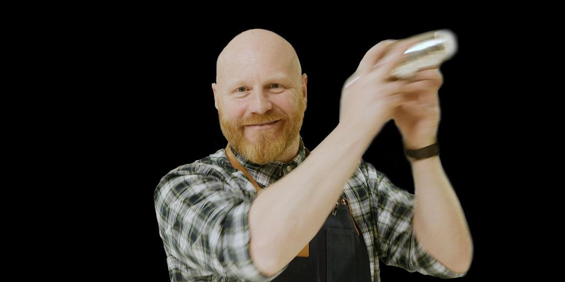 BARISTA: Ola Persson er en barista i verdensklasse.