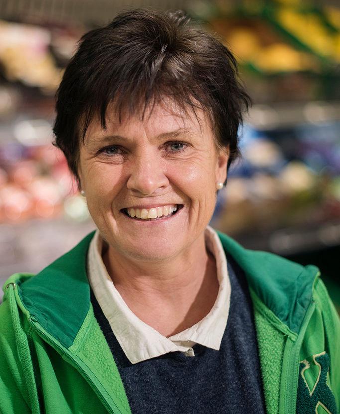 Distriktssjef Elisabeth Moe Olsen i KIWI.