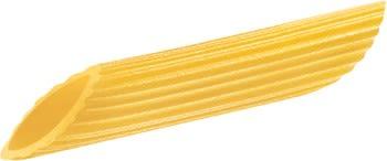 Penne rigate passer best til tykke og kremede pastasauser.