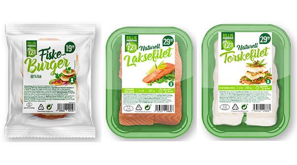 Middag for én: Fiskeprodukter i porsjonspakninger hos KIWI har vært med på å øke fiskesalget