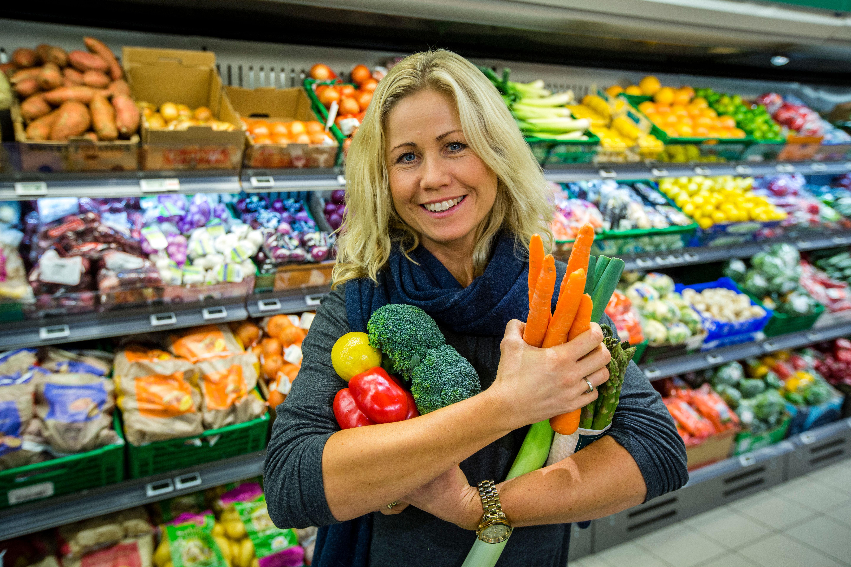 Klinisk ernæringsfysiolog Tine Sundfør tror på en sunn linje i 2018.