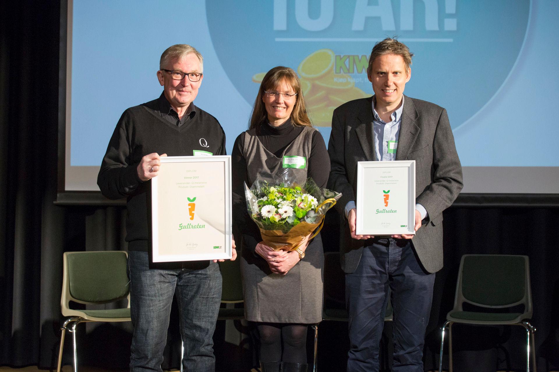 Q-meierienes «Drømmelett» vant sunnhetsprisen GULLroten.