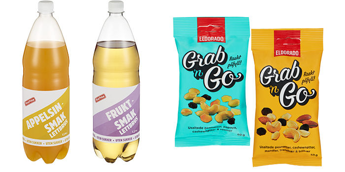 First Price sukkerfri brus og Eldorado nøtteblandinger er blant nyhetene hos KIWI.