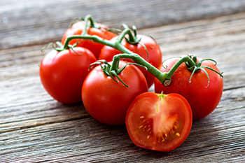 Tomater er blant råvarene som har umamismak.