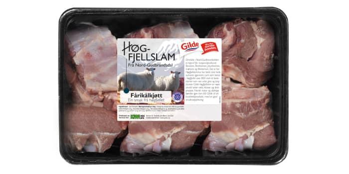 Fårikål-kjøtt fra Høgfjellslam i Nord-Gudbrandsdal.