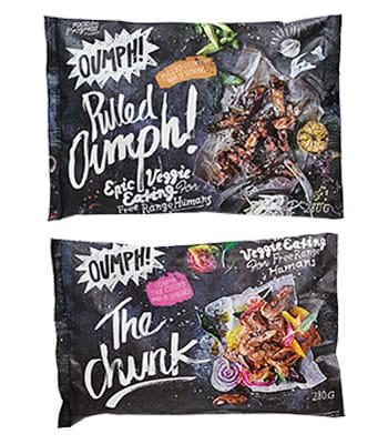 Nå får du vegetarproduktene Oumph! i alle KIWIs butikker over hele landet.