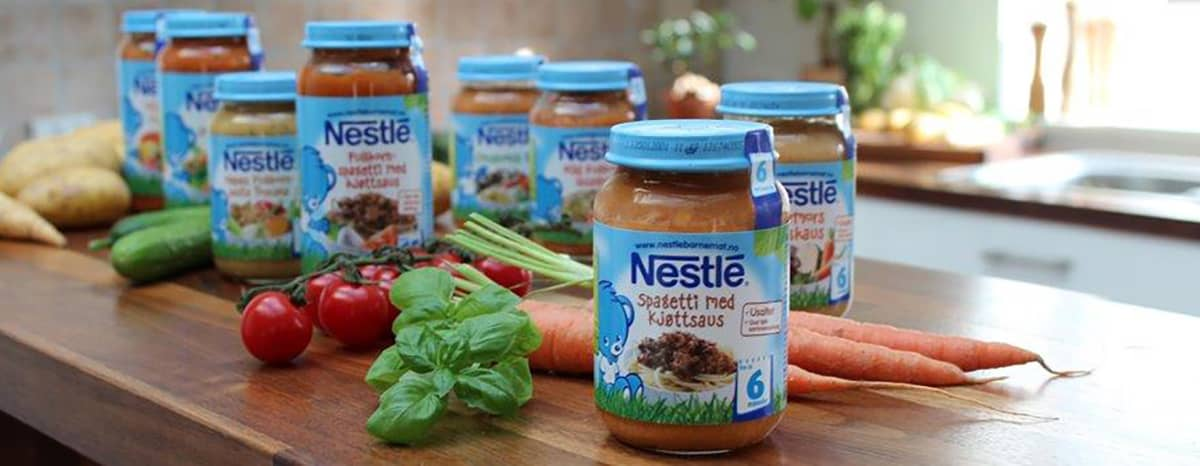 All barnemat som produseres til det norske markedet er nøye kontrollert. Råvarene i Nestlé sine middagsglass kommer kun fra nordiske gårder.