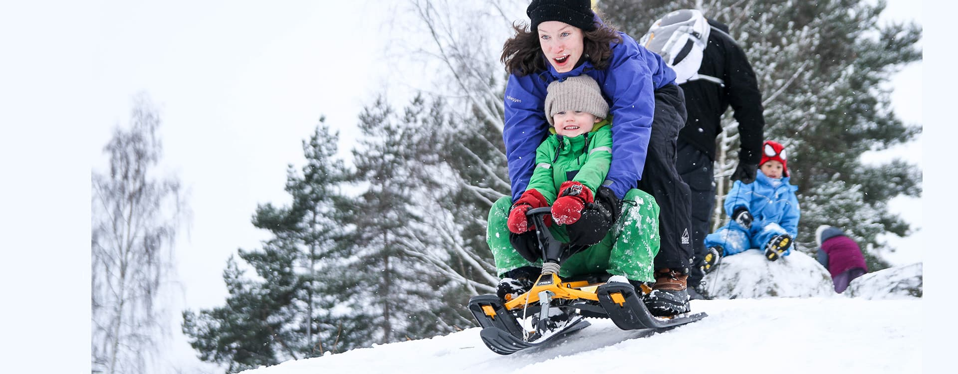 DNT inviterer til verdens største utebursdag 21. januar. FOTO: Marius Dalseg Sætre/DNT