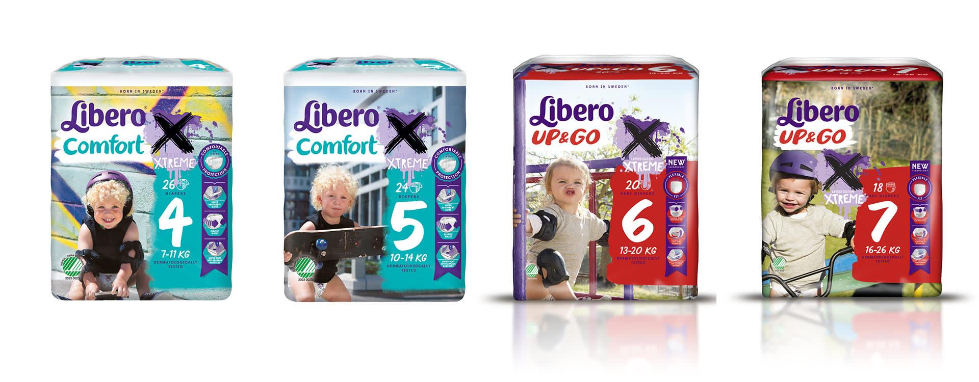 Libero Extreme limited edition er tilgjengelig i alle KIWI-butikker denne sommeren.
