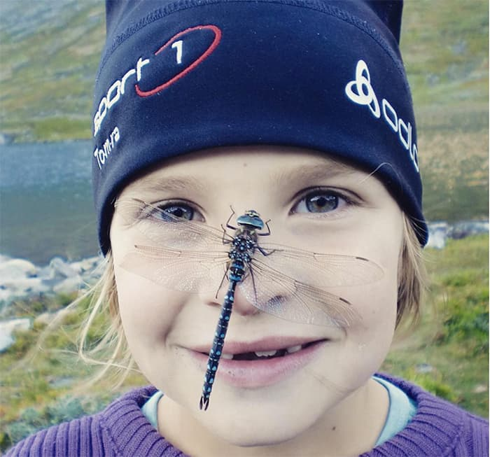 Coolaste girl is coming:) Her på tur med augestikkaren som aldri ville flyge. FOTO: @len_dal