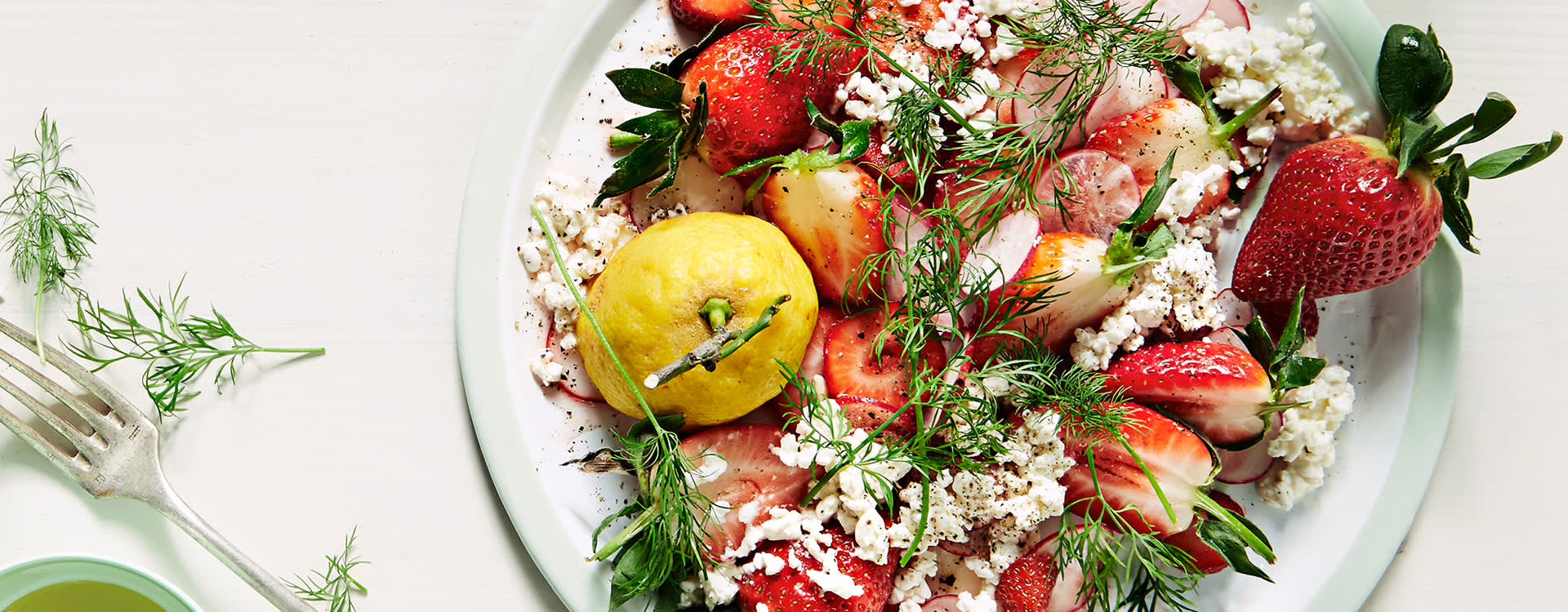 Prøv Tinas jordbærsalat med Tabasco neste gang!