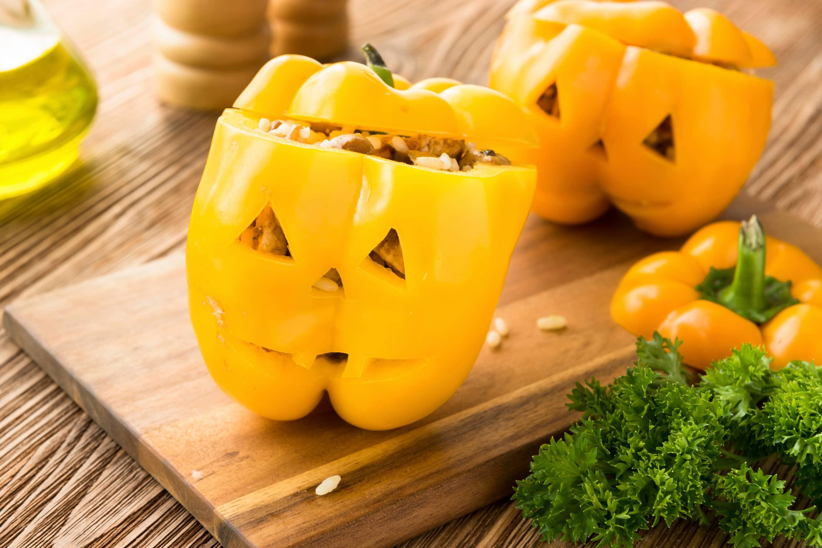 En paprika kan også bli ganske skummel. Foto: iStock