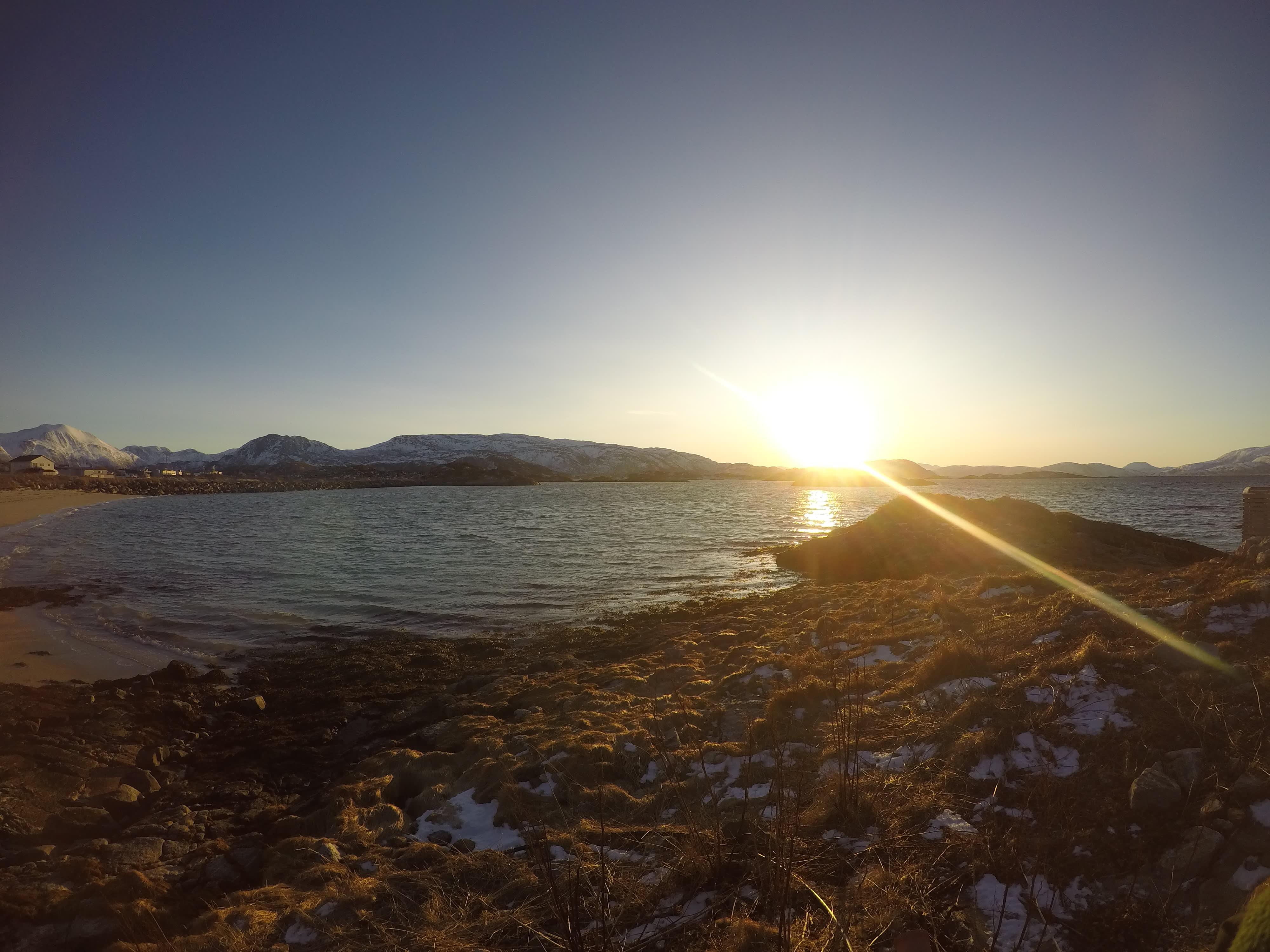 Adjø, vakre Sommarøy.