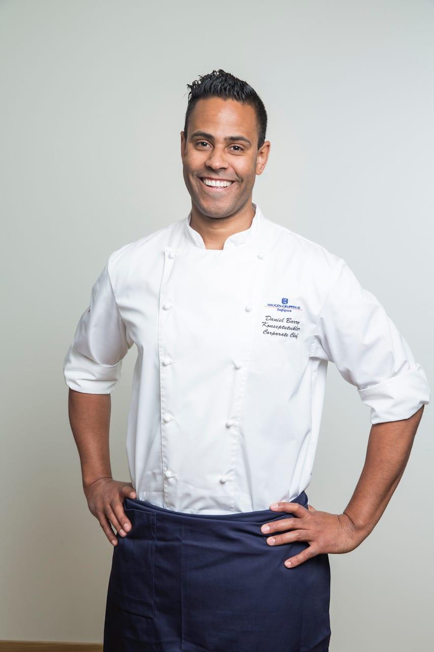 Daniel Barry er Haugen-Gruppens egen kokk, og har mye erfaring med bruk av marinader.