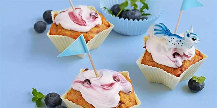 Lag muffins med søtpotet - det er både sunt og godt!