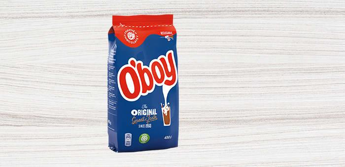 O'boy-boksen blir byttet ut med 100 prosent resirkulerbar emballasje.