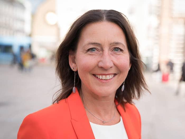 Generalsekretær i Kirkens Bymisjon, Adelheid Firing Hvambsal.