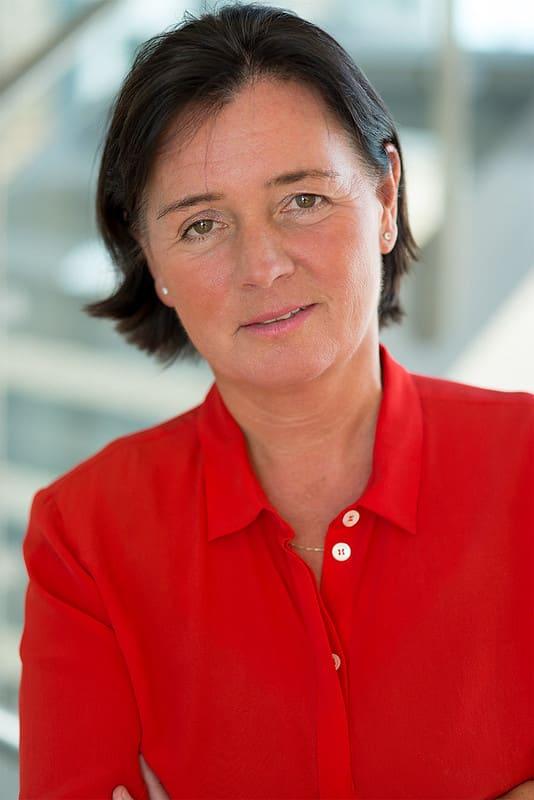 Direktør Cecilie Daae i DSB. Foto: Yann Aker
