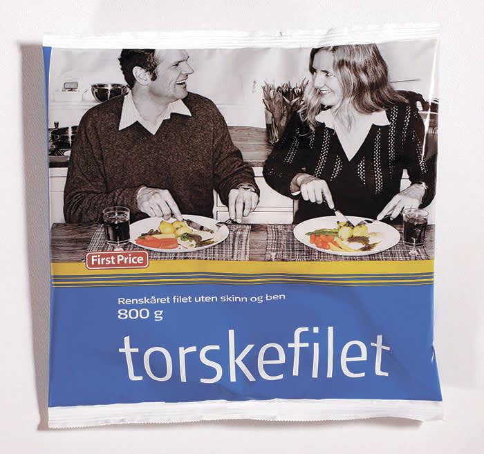 First Price torskefilet fremstår nesten som fersk fisk, mener Klikk.no.