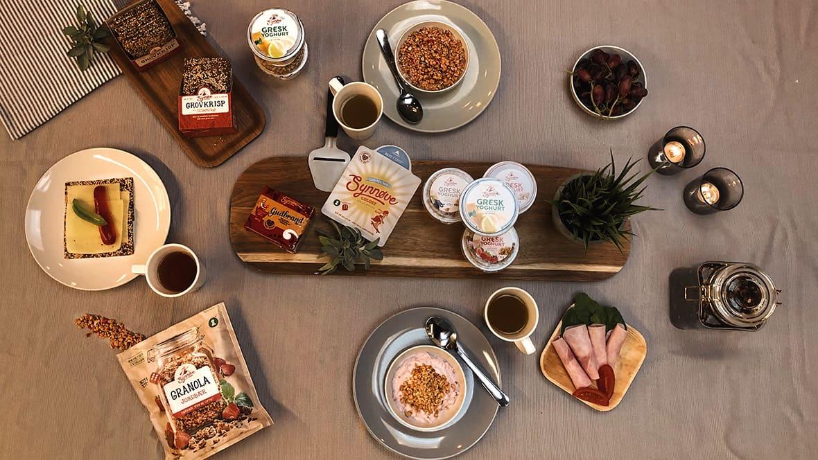 Synnøve Finden lager ikke lenger bare ost, men har produkter til et helt frokostbord.